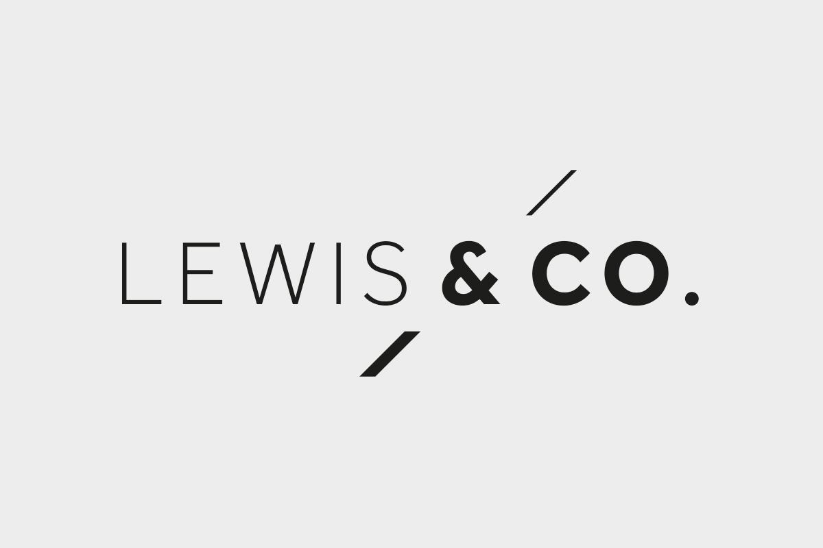 Lewis & Co Ireland Brand Identity