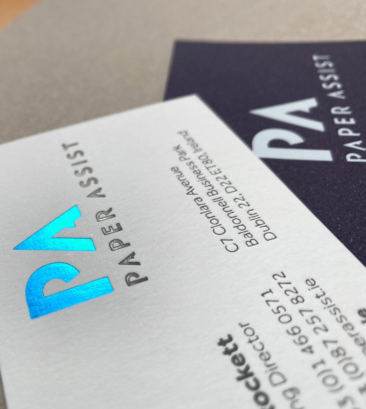 PA Business Card Design