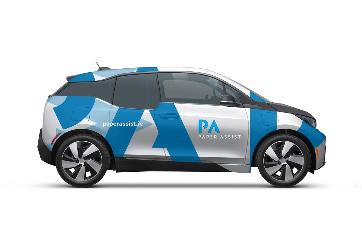 Paper Assist Vehicle Graphics