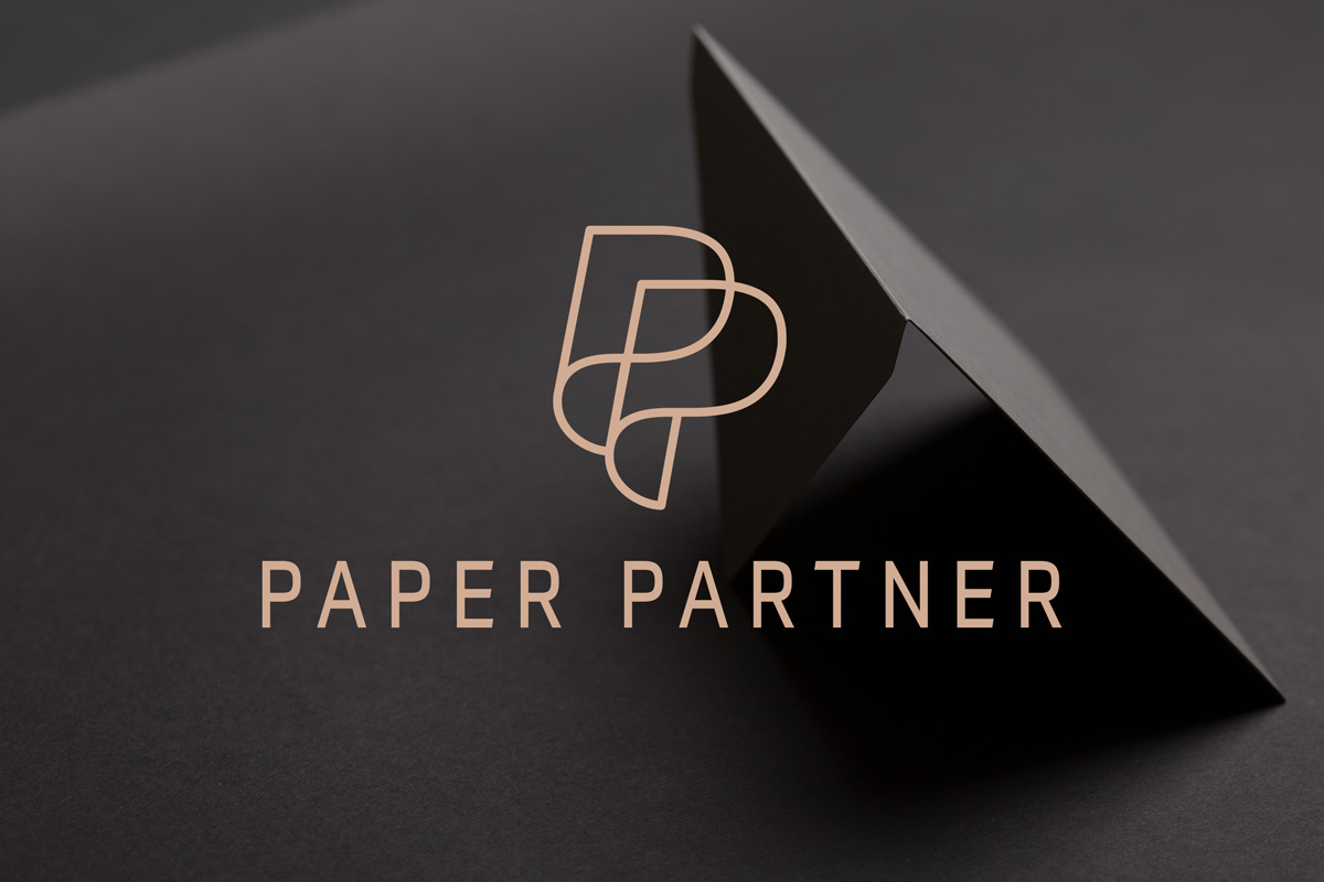 Paper partner Ireland Logo Design