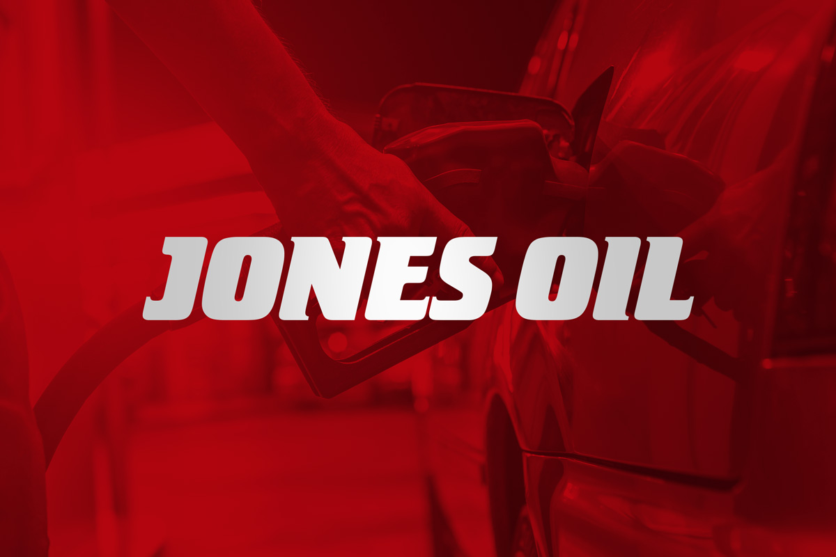 Jones Oil Brand Design Ireland