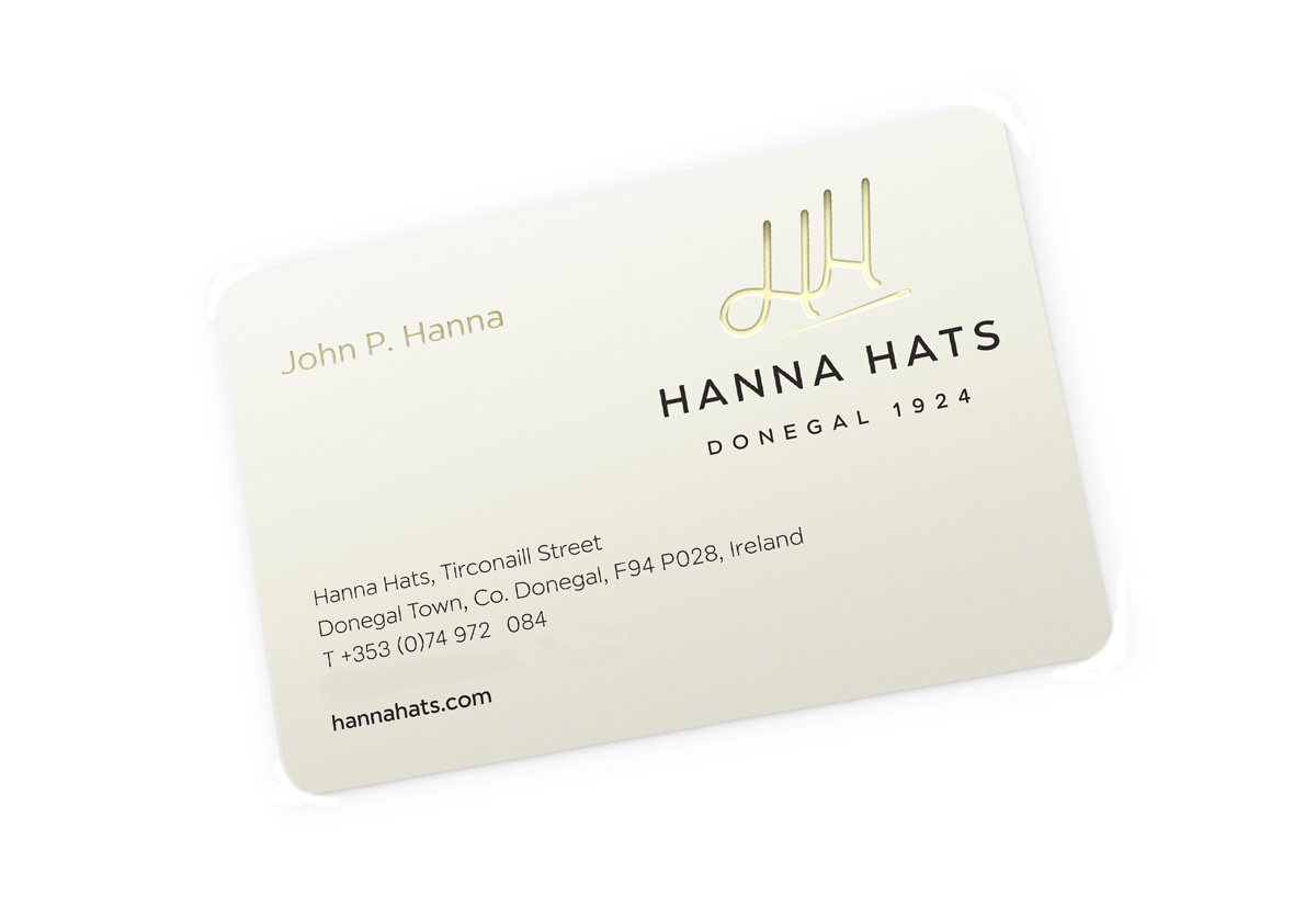 Hanna Hats Brand Design ireland