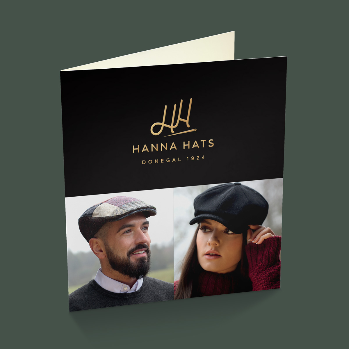 Hanna Hats Brochure design ireland